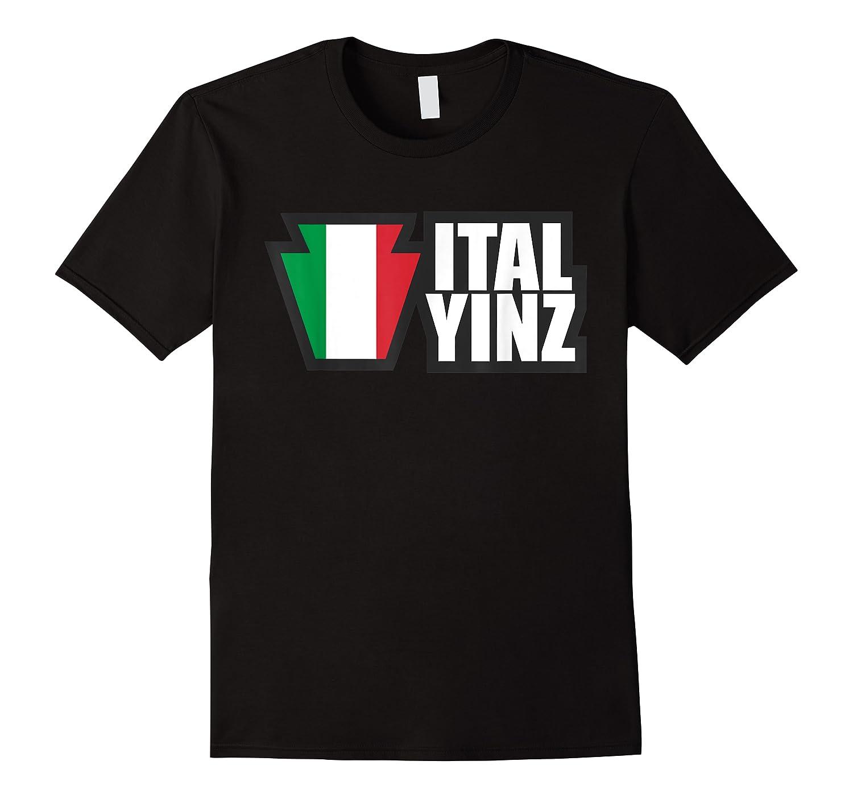 Italyinz For All Yinz Italian Yinzers In Pennsylvania T-shirt