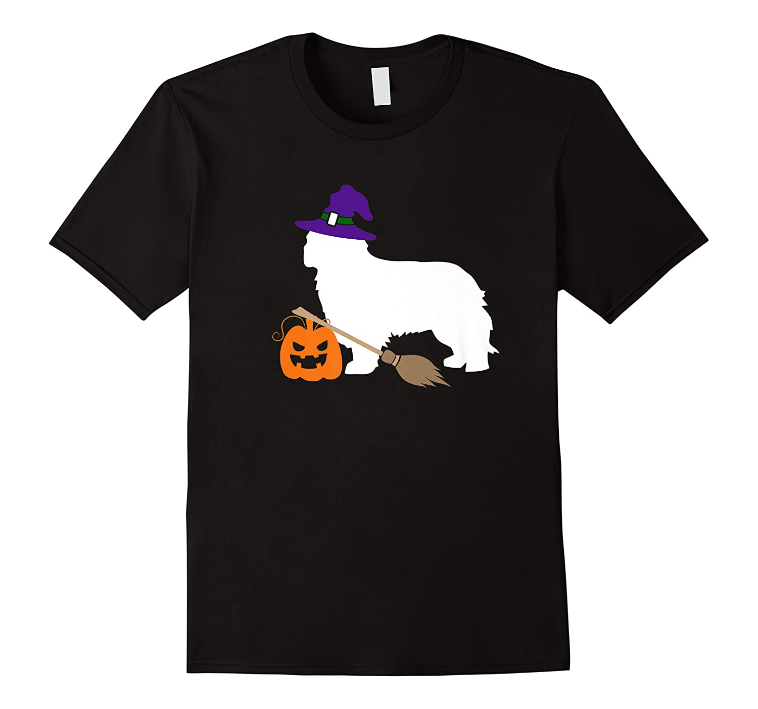 Cavalier King Charles Witch Hat Halloween Dog Costume Shirts