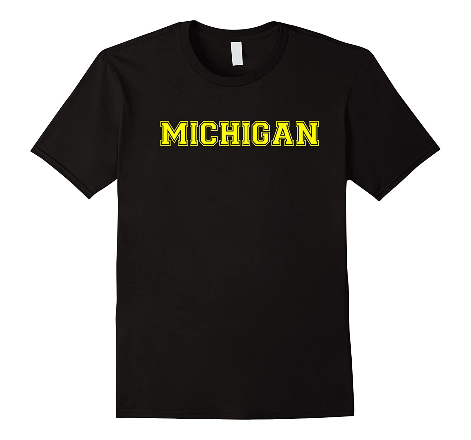 College University Style Michigan Sports Gift Shirts