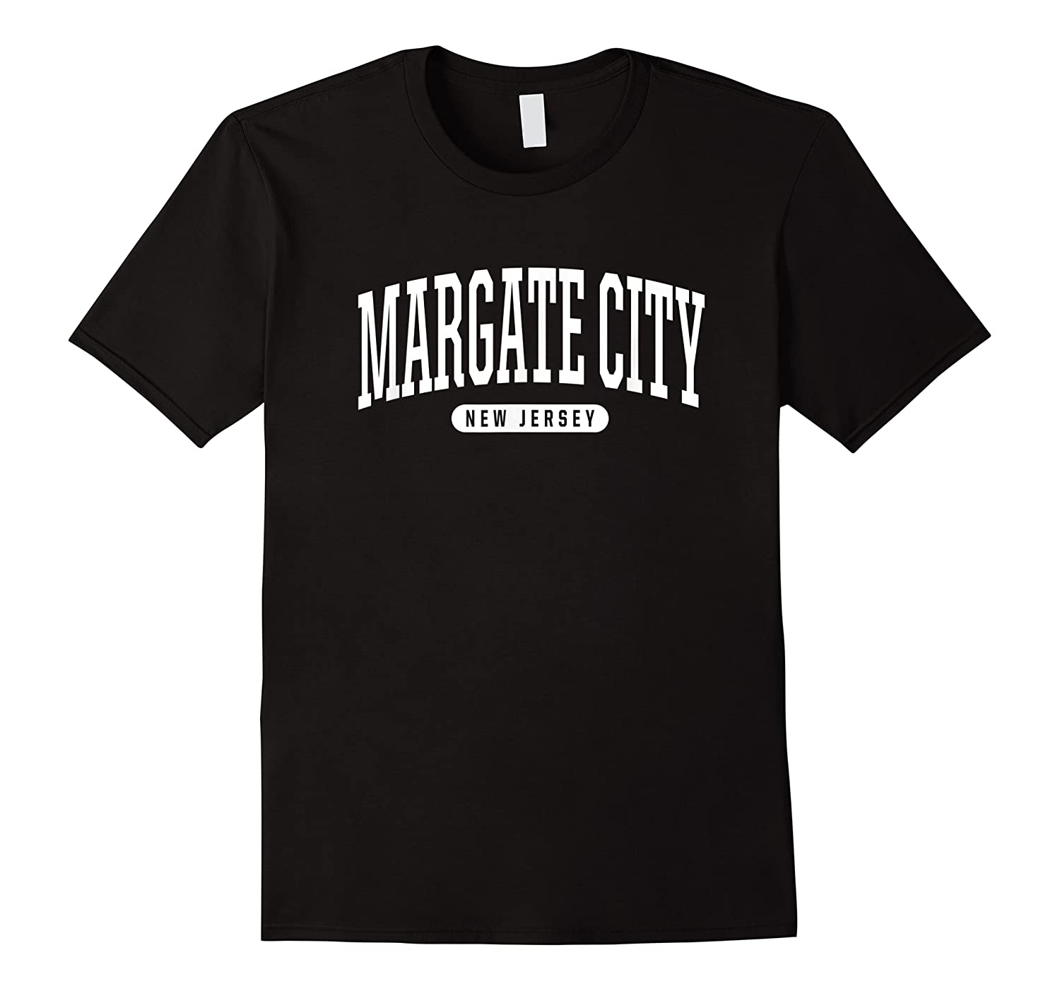 College Style Margate City New Souvenir Gift Shirts