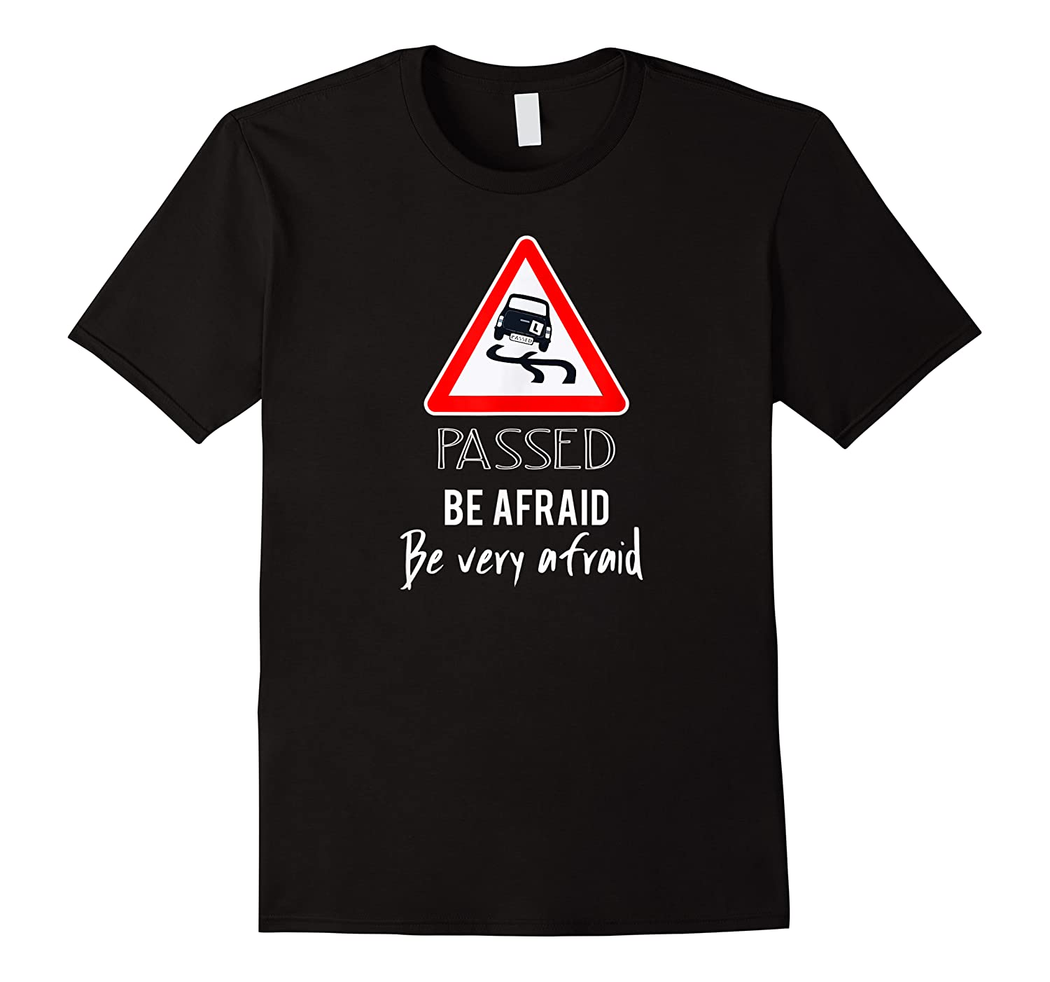 Funny I Passed My Road Test Gif Shirts