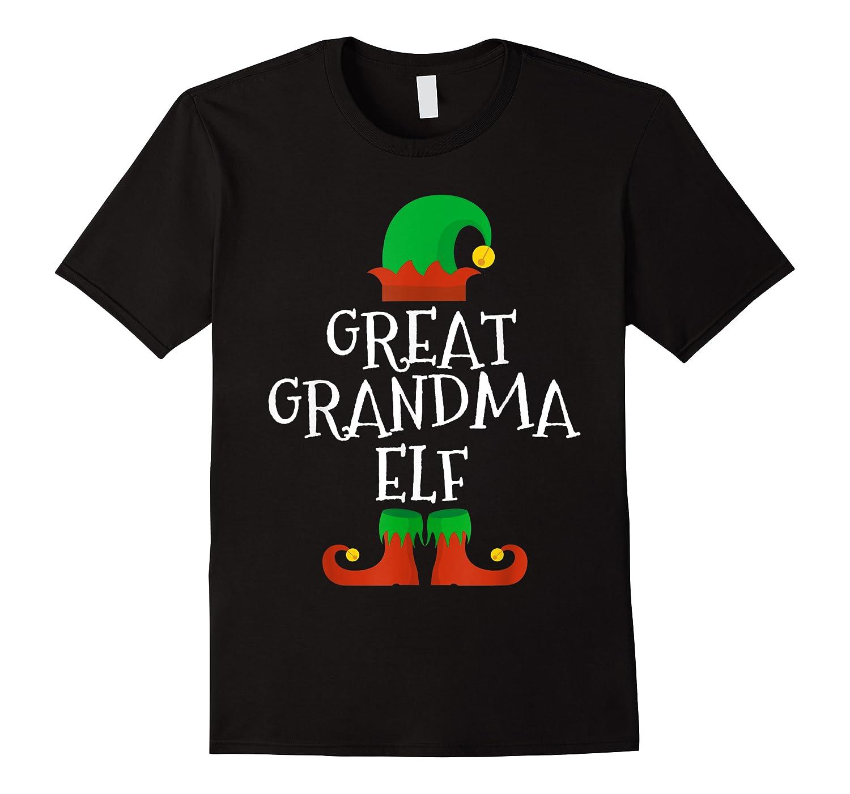 Great Grandma Elf Christmas Funny Xmas Gift Shirts
