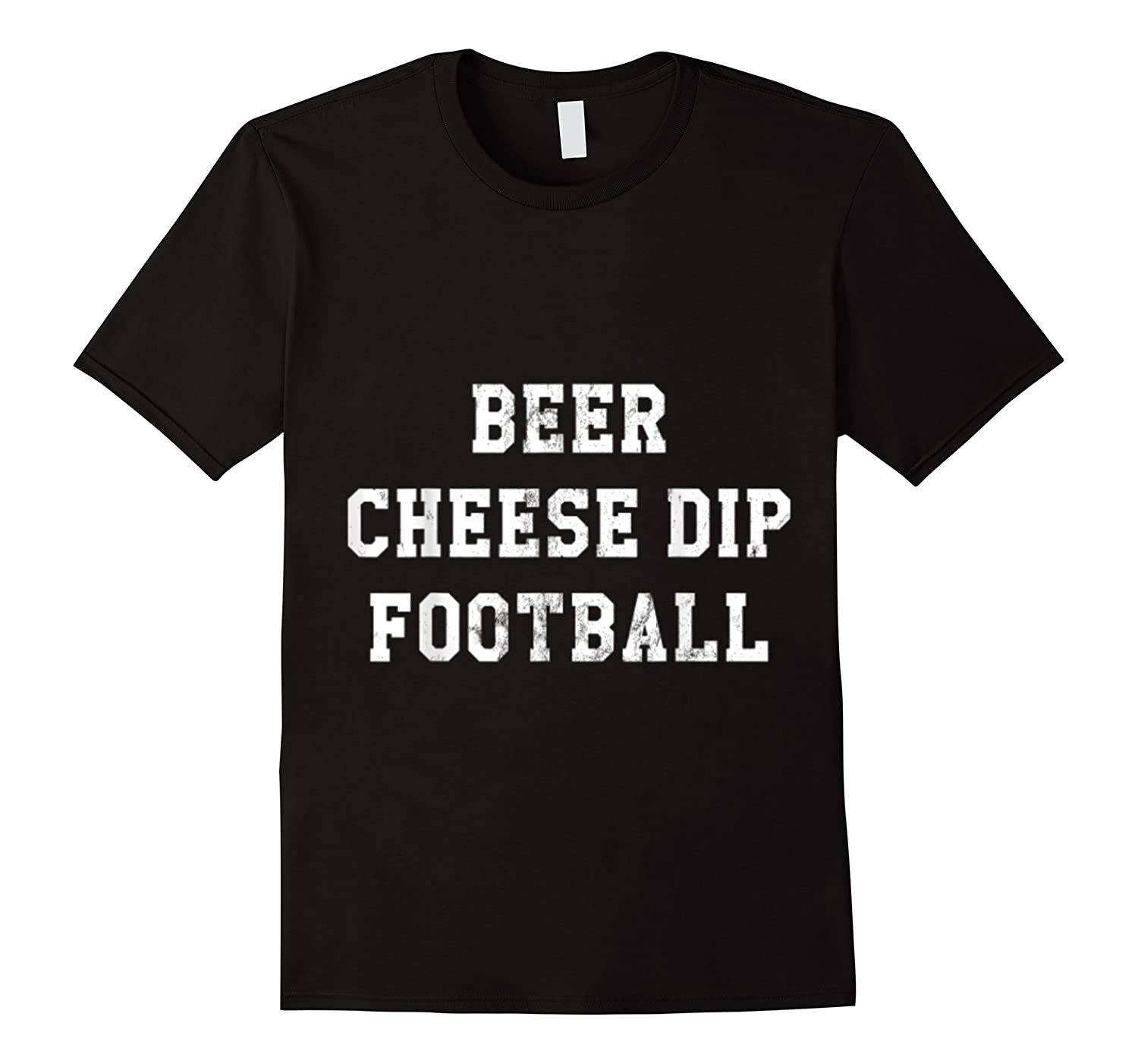 Beer Cheese Dip Football Design For Game Day T-shirt