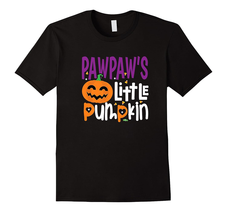 Pawpaw's Little Pumpkin Halloween Cute Pumpkin Gifts Shirts