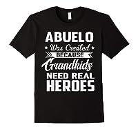 365 Abuelo Funny Grandpa Grandfather Gift Shirts Black