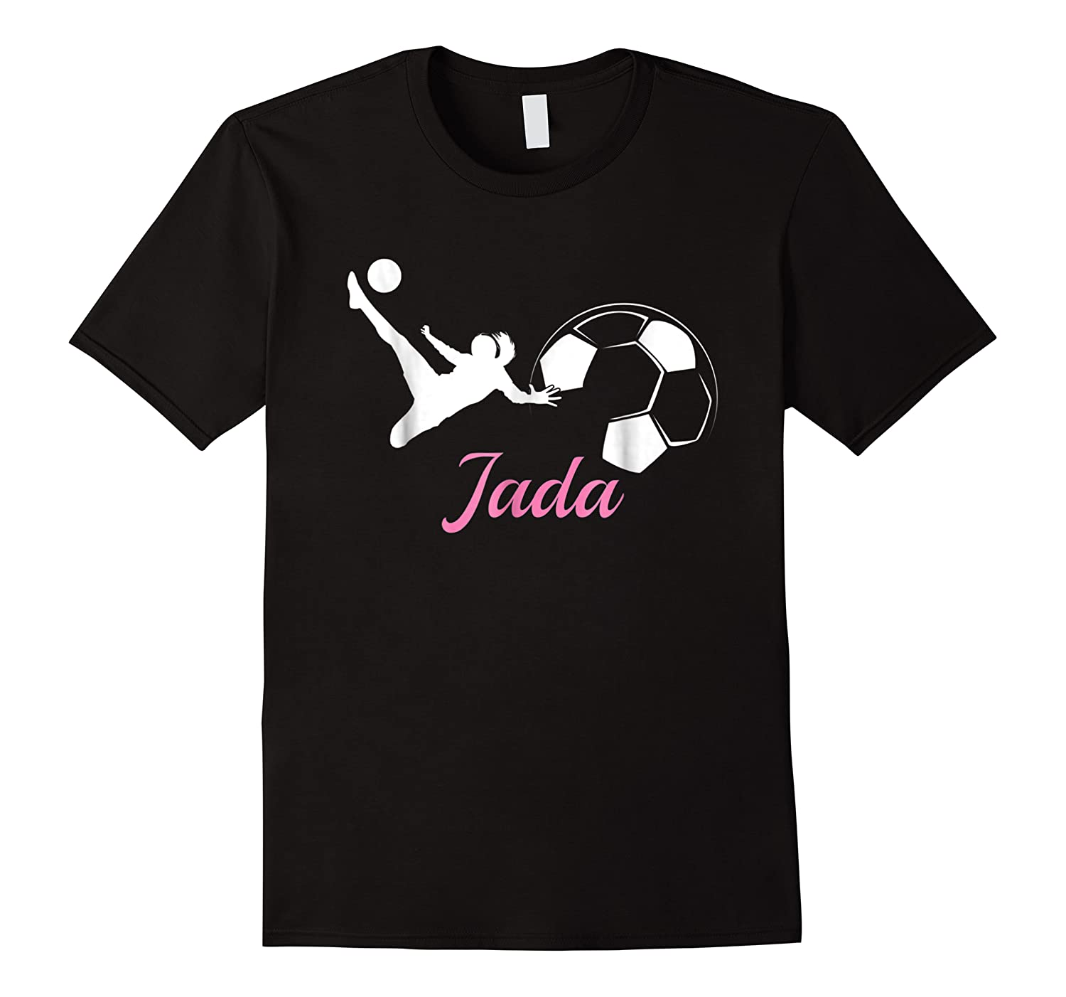 Jada Name Soccer Personalized Gift Shirts