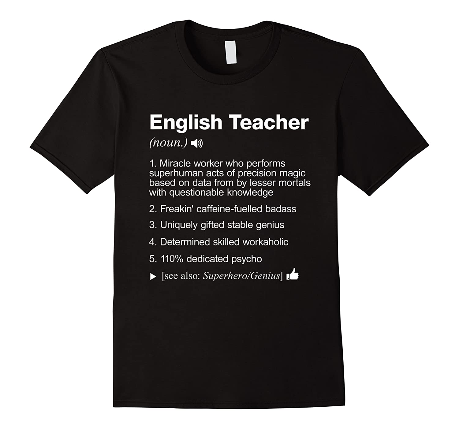 English Tea Definition Meaning Funny T-shirt