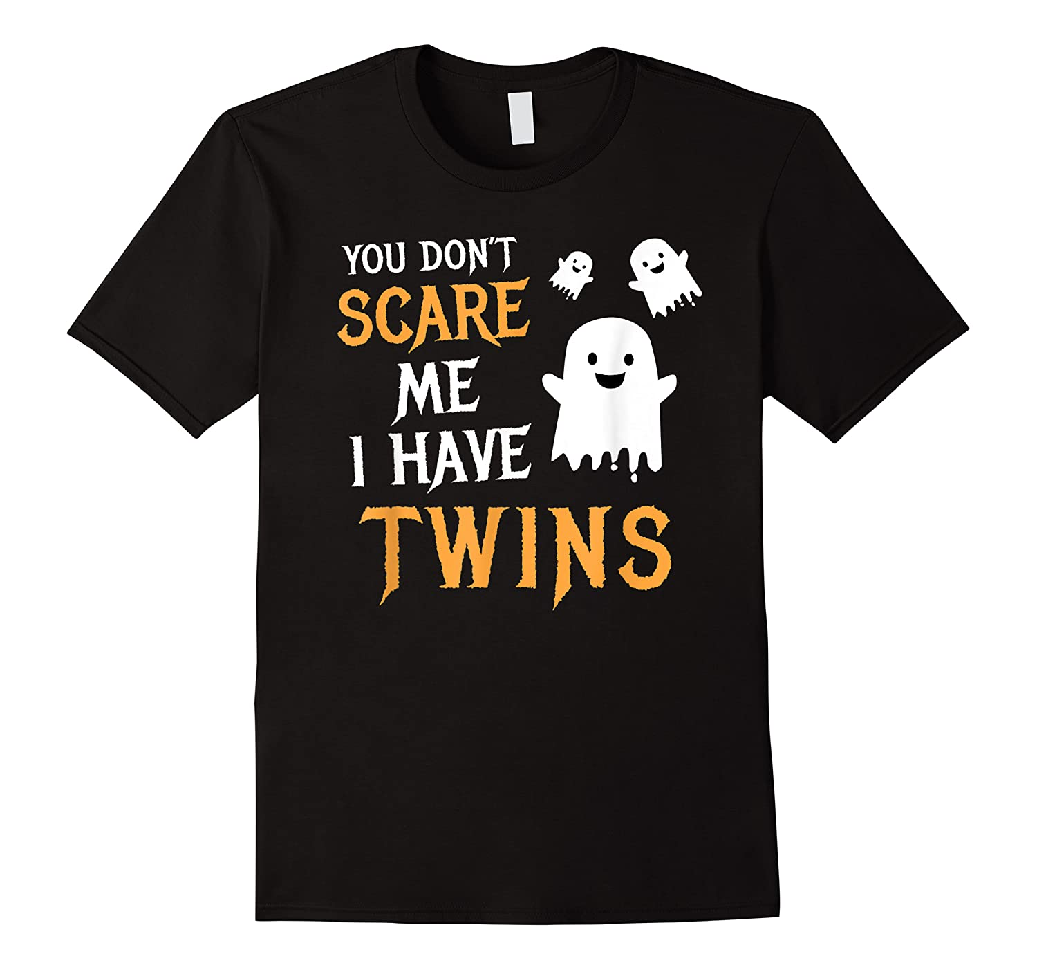 Funny Parents Of Twins Shirt Halloween Gift
