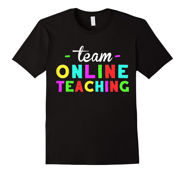 Online Tea Design Gift Virtual Teaching Back To School T-shirt