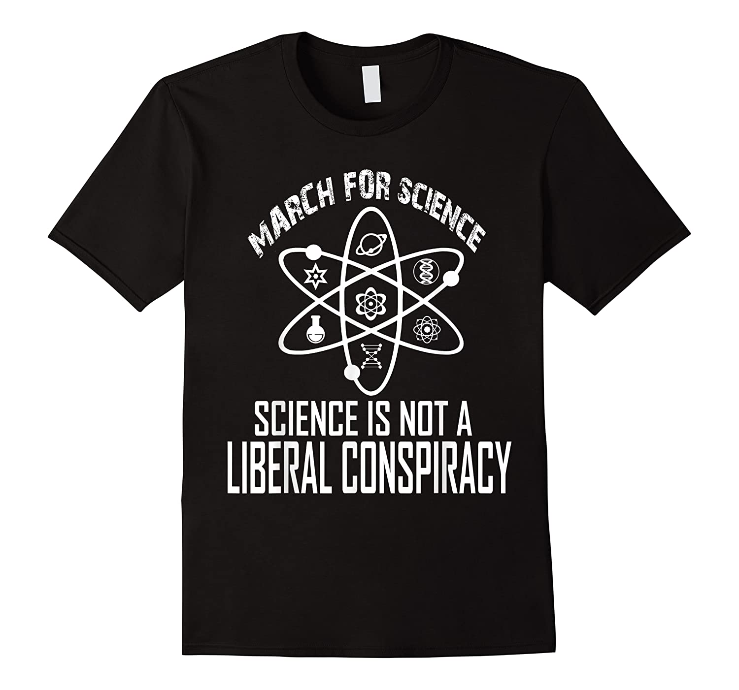 March For Science Science Isn't Liberal Conspiracy Shirts
