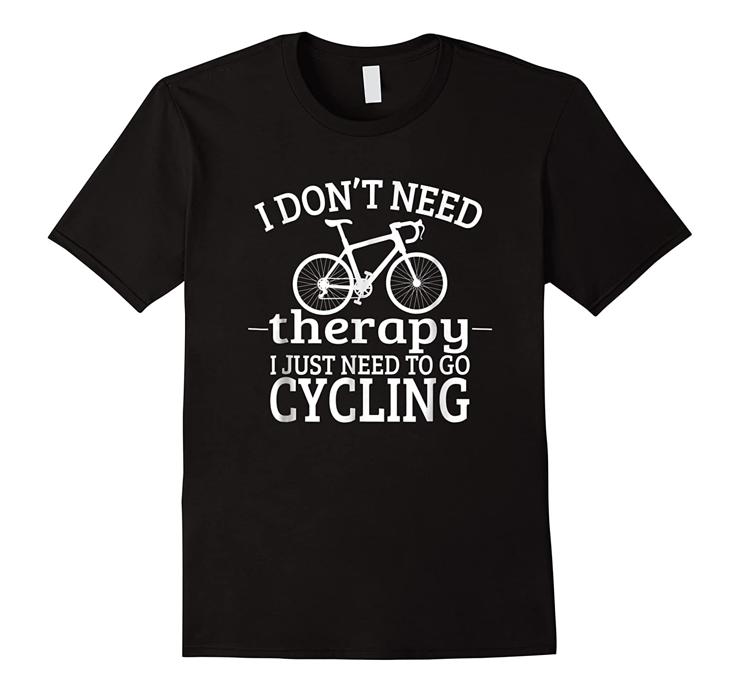Cycling Therapy Bicycle Novelty Bike Cute Shirts