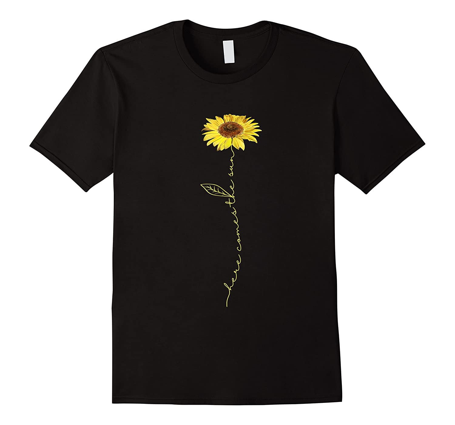 Here Comes The Sun Hippie T-shirt
