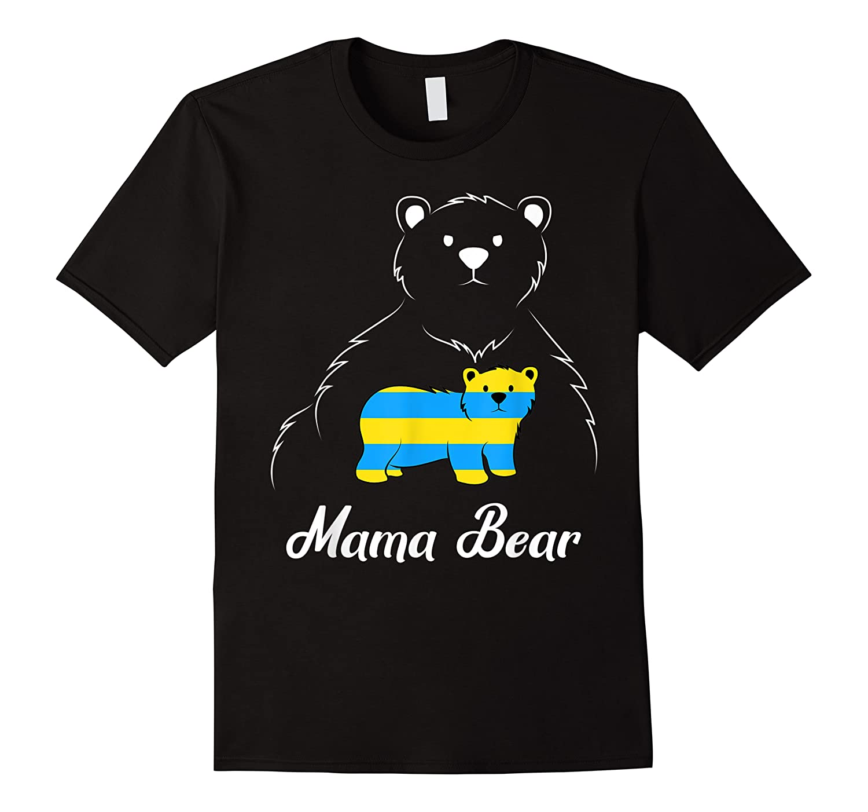Down Syndrome Mom Awareness Trisomy 21 Gold Blue Ribbon Gift T-shirt