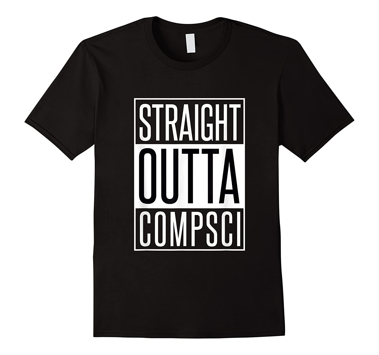 Computer Science Straight Outta Comp Sci Parody Shirts