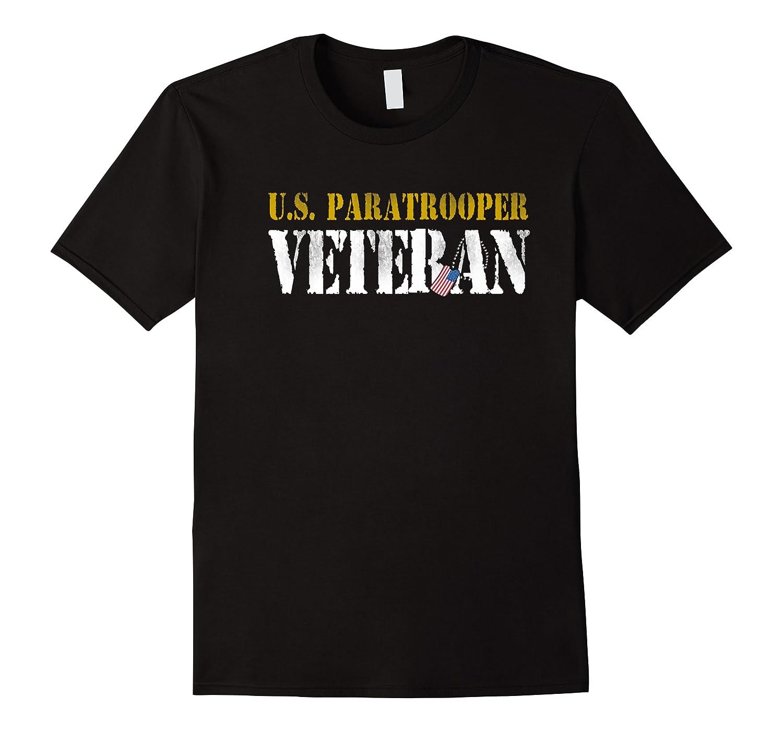 Us Paratrooper Army Veteran Airborne Division Premium T-shirt