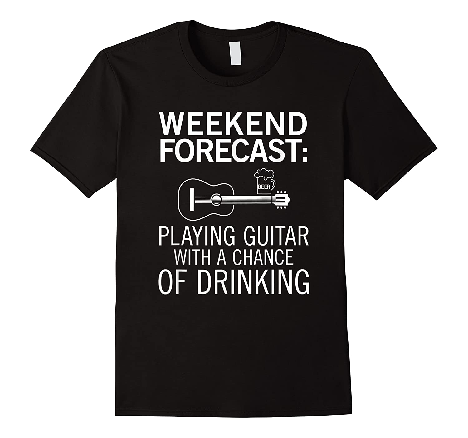 Acoustic Guitar Gift Funny For Beer Drinkers Shirts
