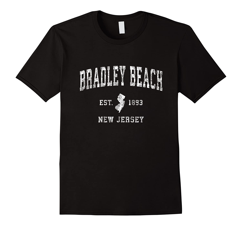 Bradley Beach New Nj Vintage Athletic Sports Design Shirts