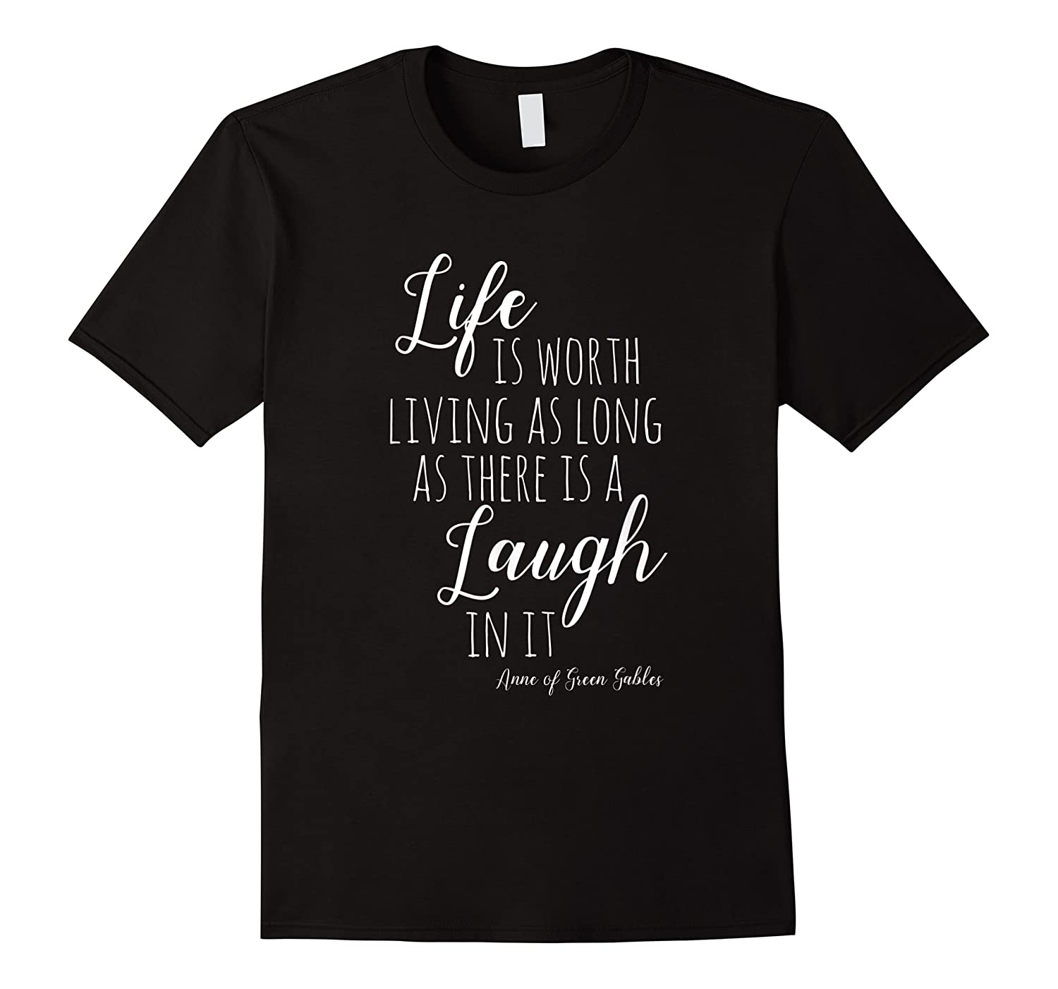 Anne With An E T-shirt, Anne Of Green Gables Quote Shirt T-shirt
