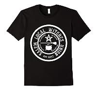 Salem Local Witches Union Est 1692 Halloween Shirts Black