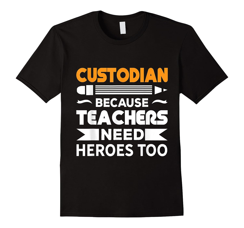 School Custodian Funny T-shirt