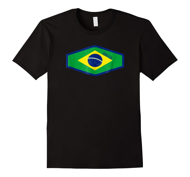 Superhero 2018 Fan Soccer Brazil T-shirt
