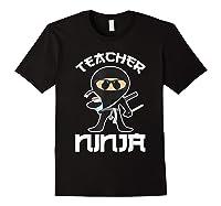 Ninja Tea Cool Art Teaching Lover Gift Shirts Black