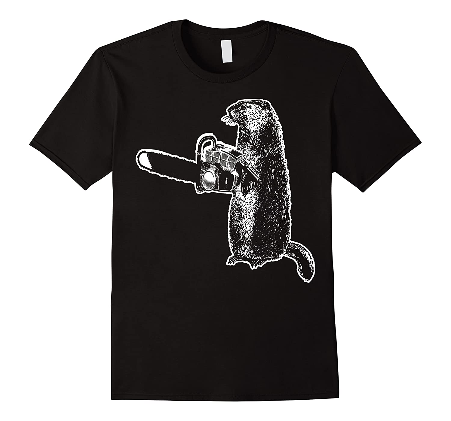 Funny Woodchuck Groundhog Day Could Chainsaw Wood Shirts