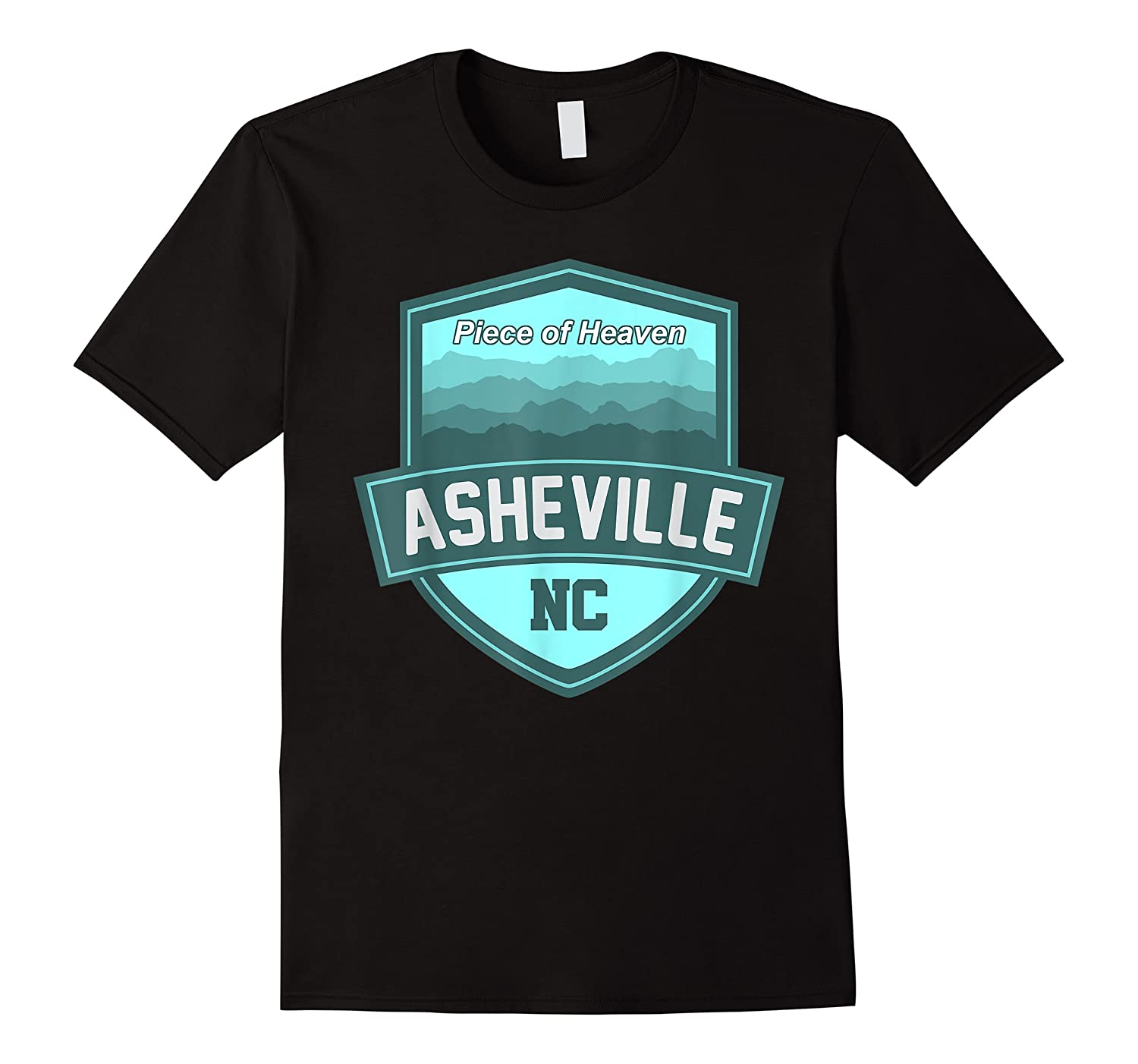 Asheville North Carolina Piece Of Heaven Shirts