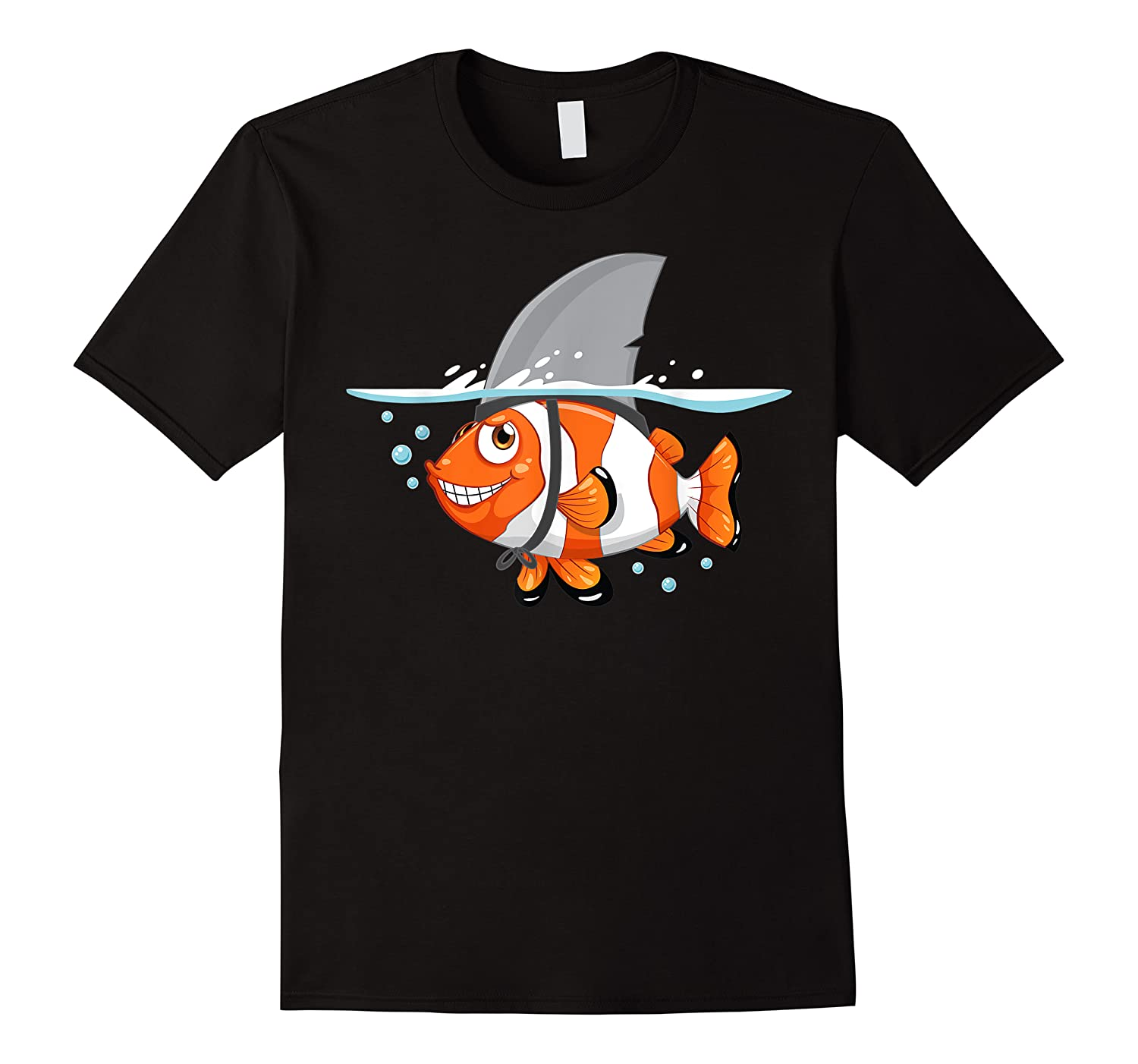 Goldfish With Shark Fin  Cool Sea Creatures Week Gift Shirts