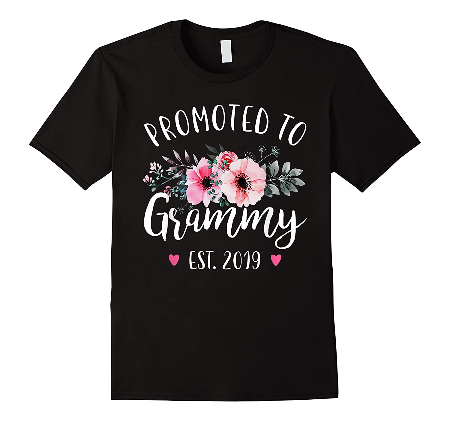 Promoted To Grammy Est 2019 Baby Announce Shirts