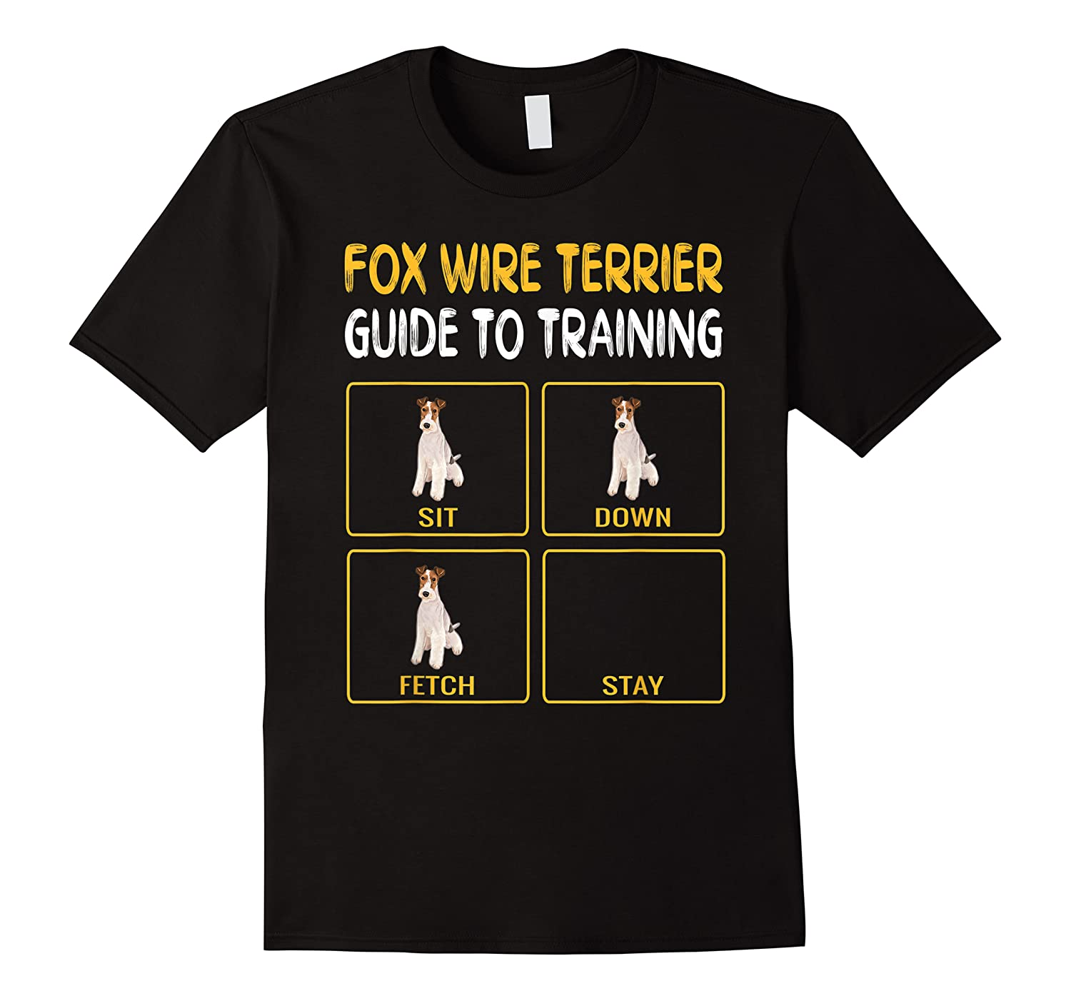 Wire Fox Terrier Guide To Training Dog Obedience T-shirt
