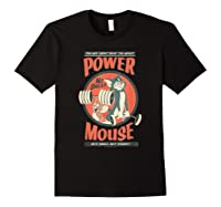 Tom And Jerry Power Mouse T-shirt Black