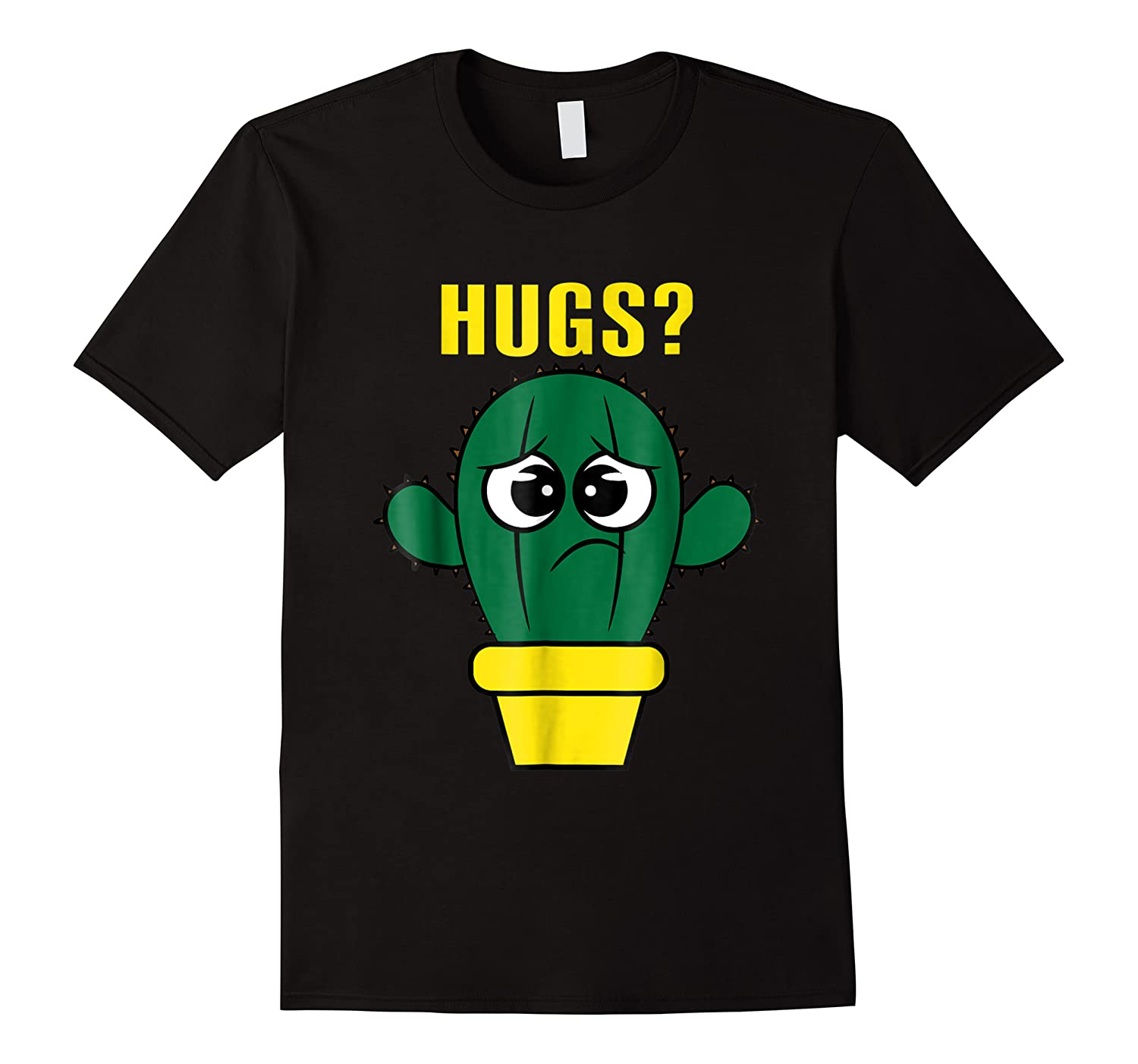 Hugs Cactus For Women Men Children Gift Plants New Shirts