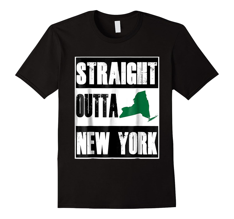 Straight Outta New York Funny Ny Shirts