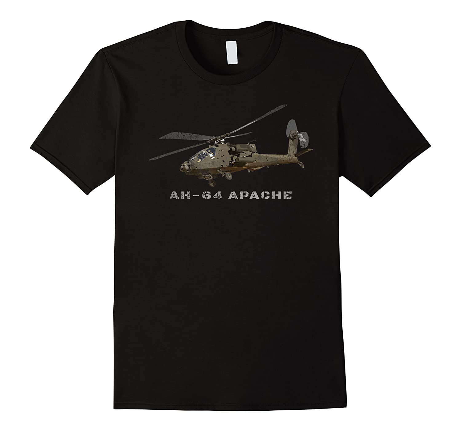 Ah 64 Apache Army Attack Helicopter Gift Shirts