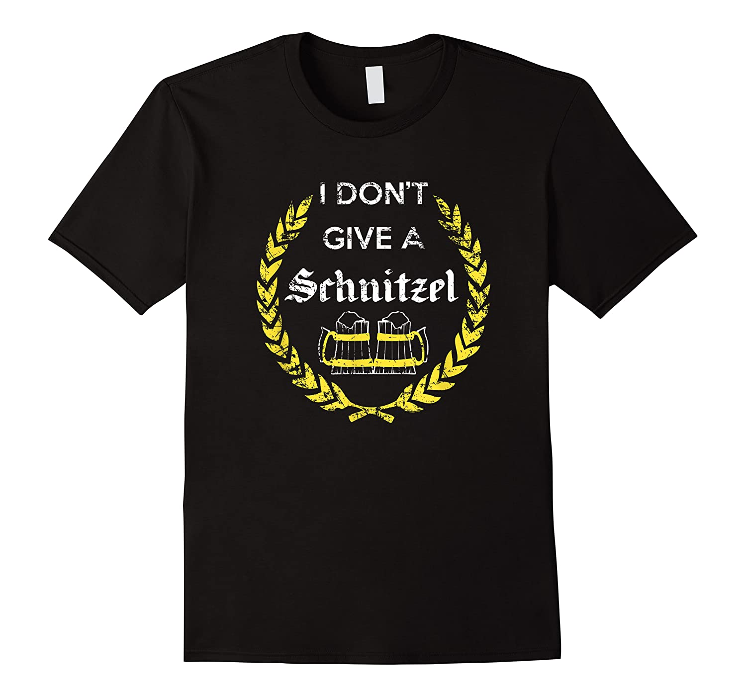 I Don\\\'t Give A Schnitzel Shirt, Funny Beer Drinking Gift