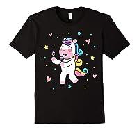Cute Unicorn, Gift For Unicorn Lover Unicorn Lover Gift Shirts Black