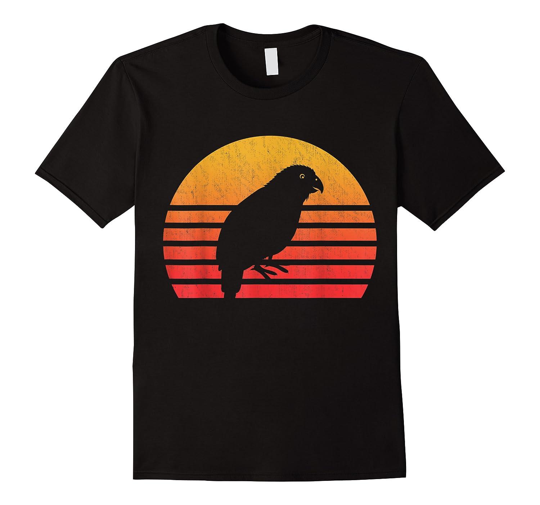 Vintage Retro Sunset Kakapo T-shirt