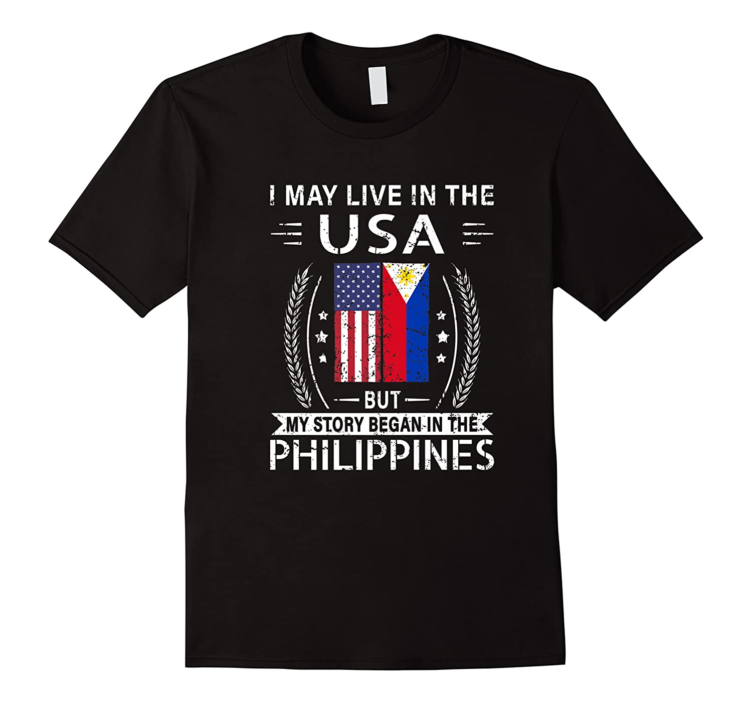 May Live N The Usa The Philippines Flag Shirts