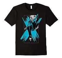Marvel X- Storm Color Pop Box Graphic T-shirt Black