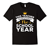 This Tea Survived The School Year - Last Day Shirt Black