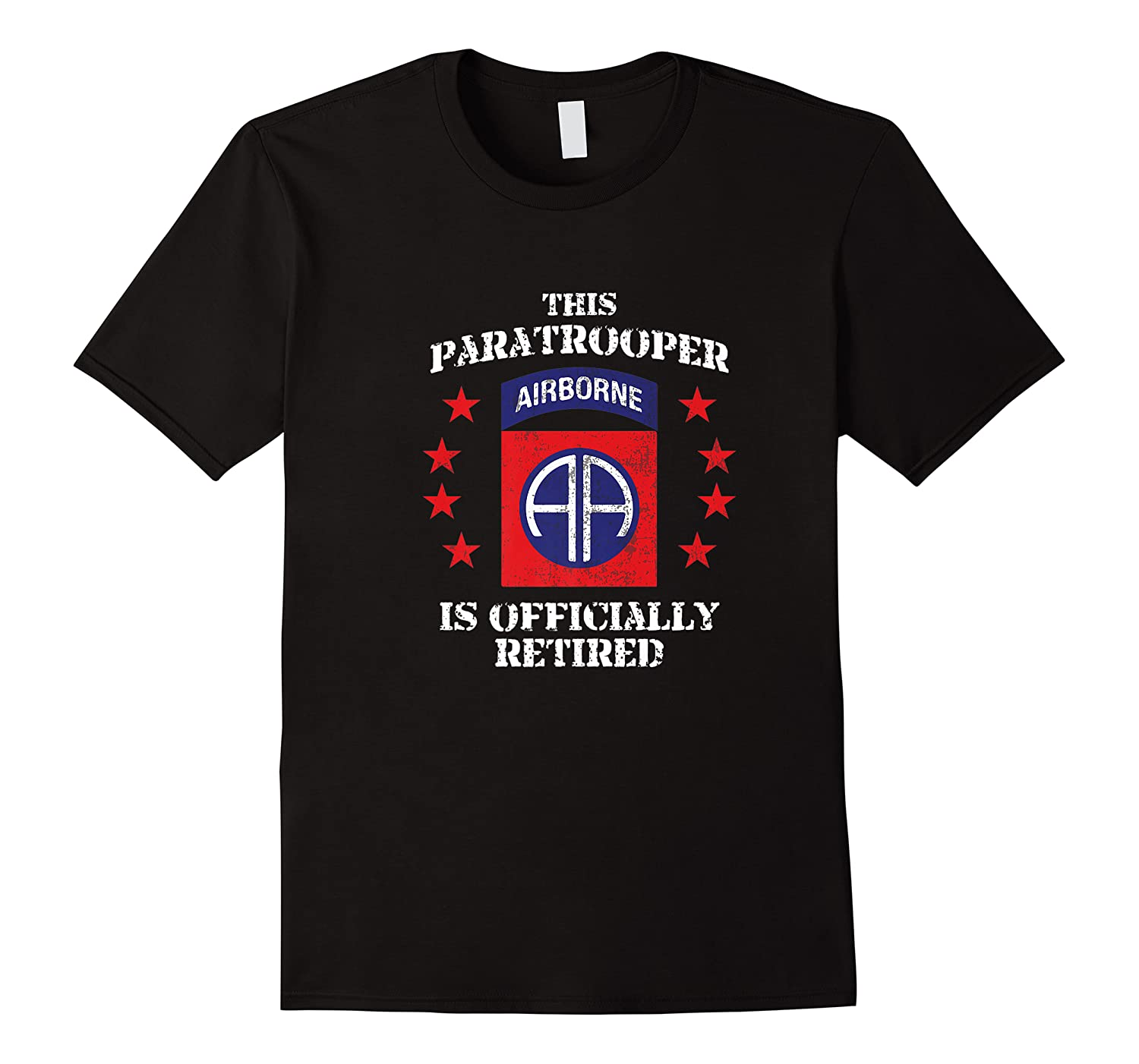 Retired Us Army 82nd Airborne Division Paratrooper Shirts