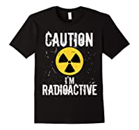 Radiation Therapy Funny Cancer Get Well Soon Gift Survivor T-shirt Black