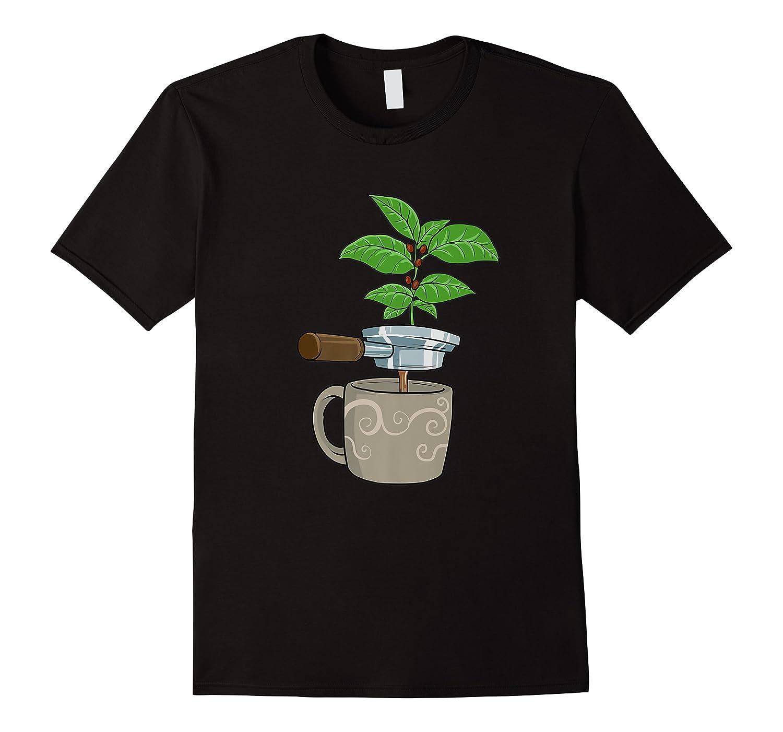 Coffee Plant Espresso Machine For Coffee Drinker Shirts