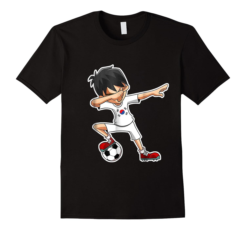 Dabbing Soccer Boy South Korea, Korean Flag Shirts