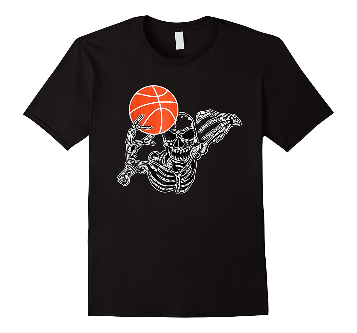 Halloween Skeleton Basketball Player Skull Hands Shirts