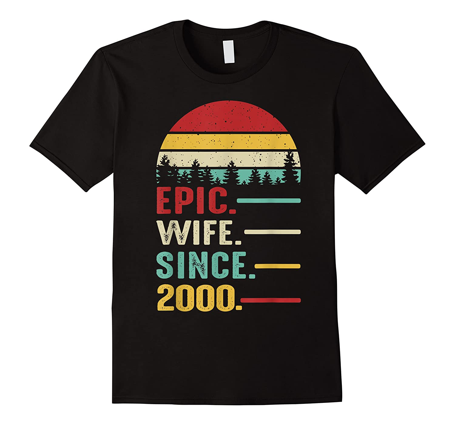 20th Wedding Anniversary Gift For Her Epic Wife Since 2000 Shirts