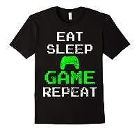 Gaming Console Vintage Shirts Black