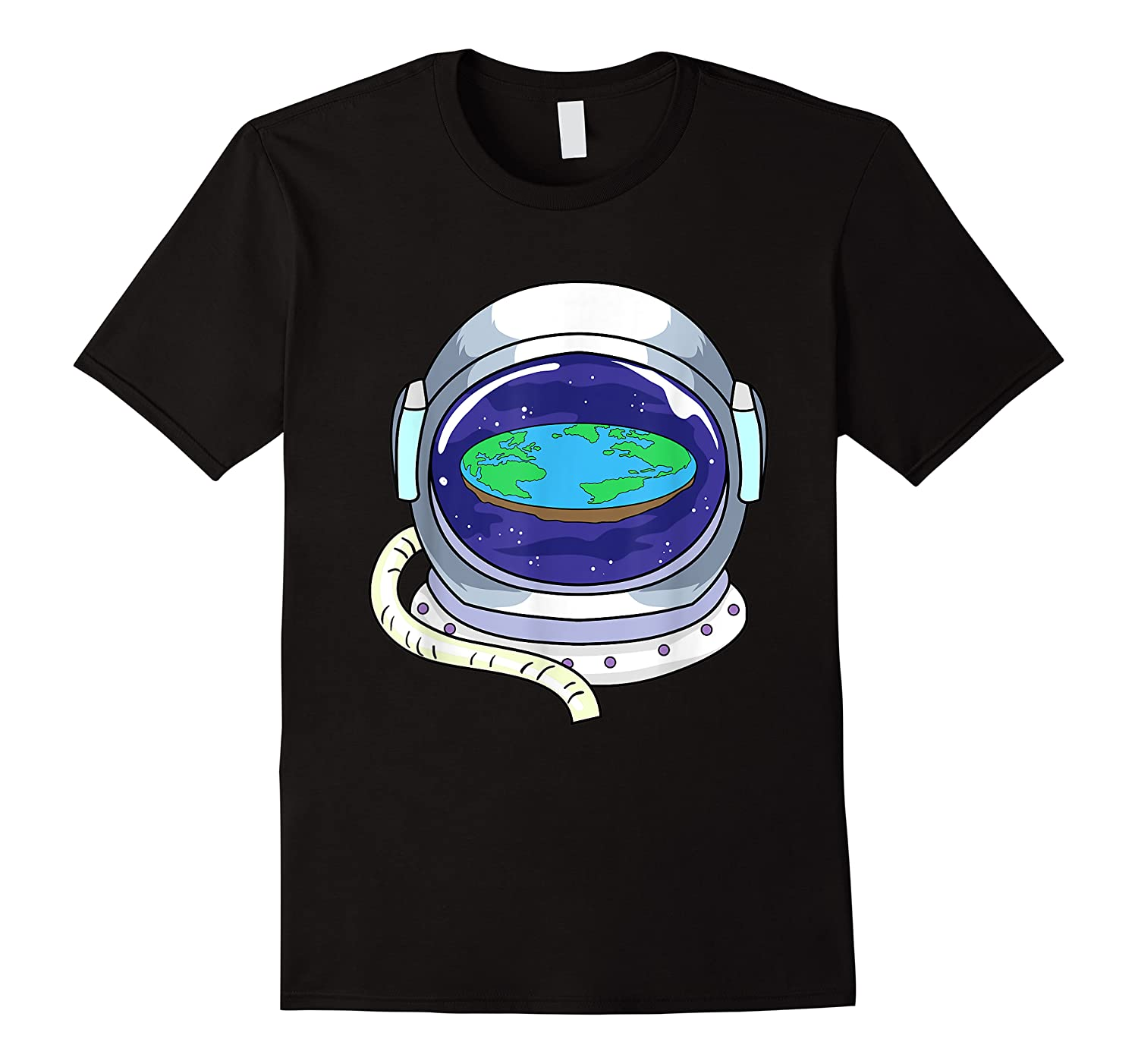 Flat Earth Map Design For A Flat Earth Society Shirts