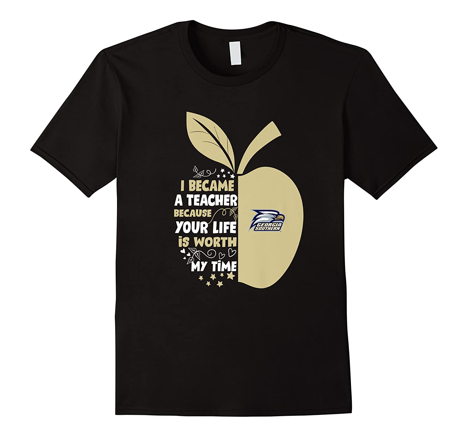 Georgia Southern Eagles I Became Teacher Team Shirts